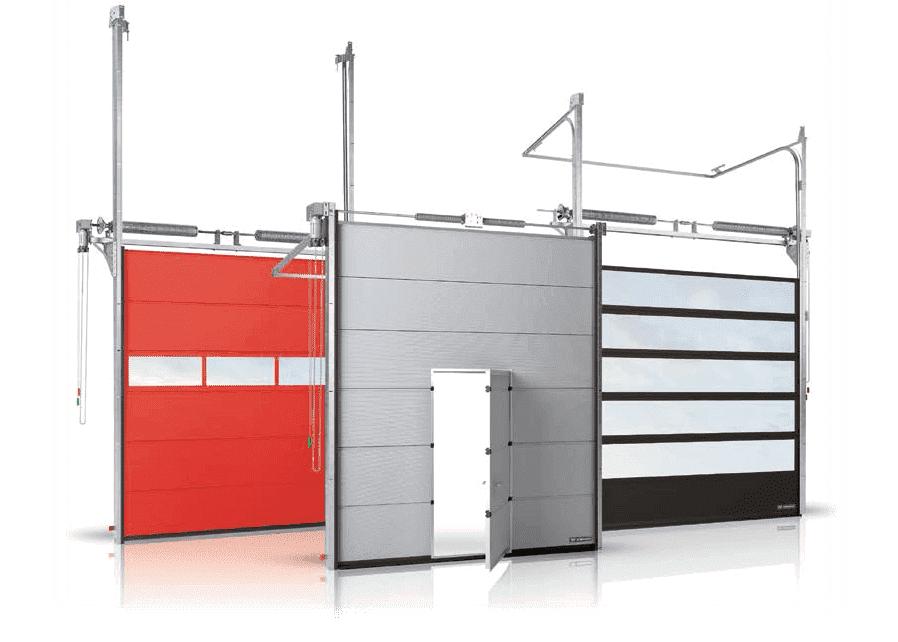 Продажа и монтаж секционных ворот